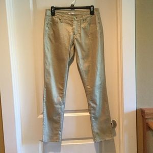 Gold Xhilaration Skinny Jeans